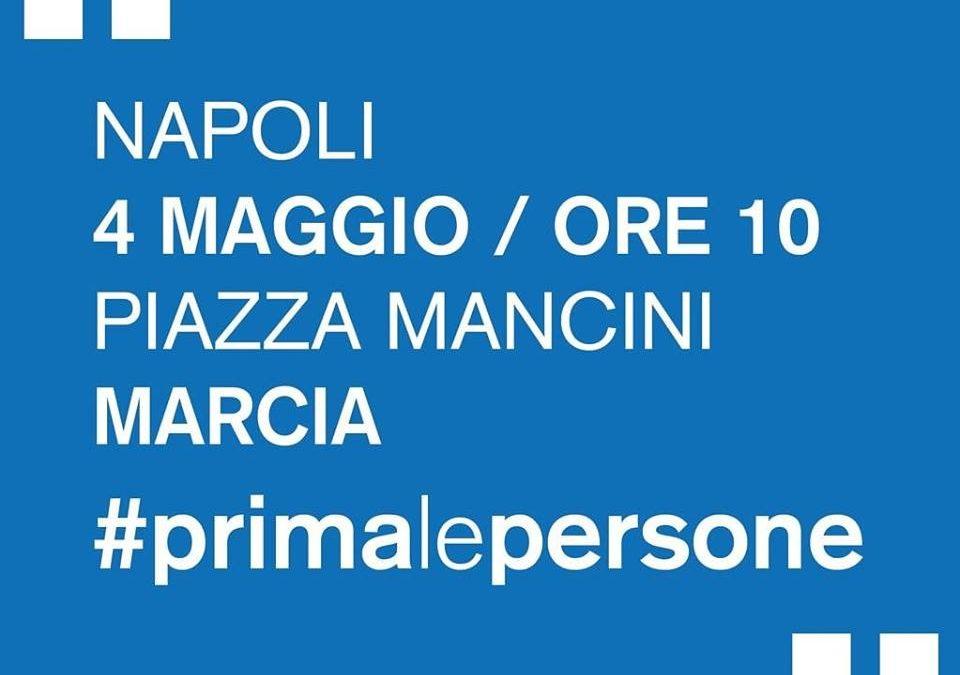 """Le Acli di Caserta saranno presenti il 4 maggio a Napoli per la manifestazione """"Prima le persone"""""""