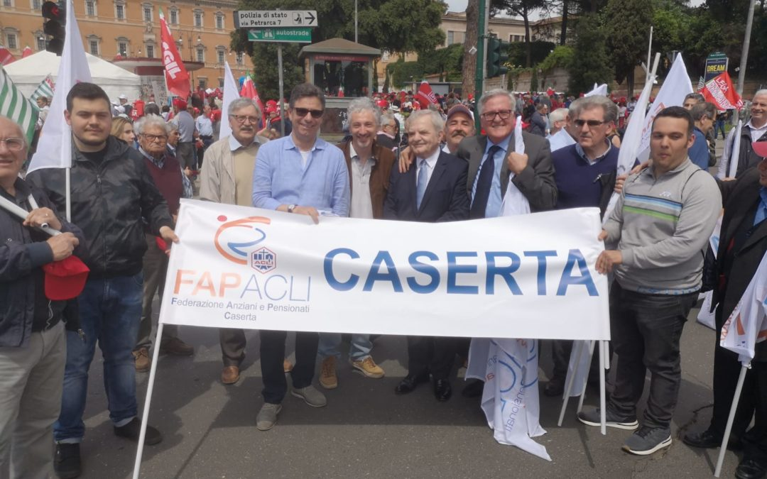 La Fap Acli di Caserta a Roma il 1 giugno 2019