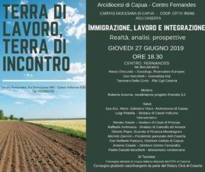 Immigrazione,lavoro e integrazione 27 giugno 2019