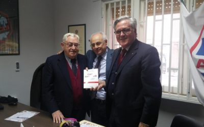 IL PRIMO PRESIDENTE PROVINCIALE DELLE ACLI DI CASERTA, VINCENZO DE MICHELE, COMPIE 100 ANNI ANCORA DA PROTAGONISTA NELL'ASSOCIAZIONE.
