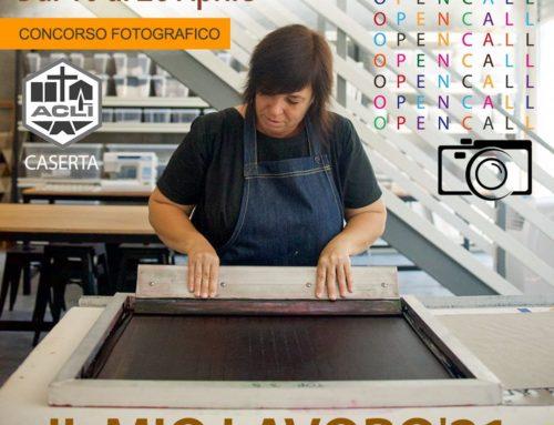 CONTEST FOTOGRAFICO Il Mio Lavoro 2021